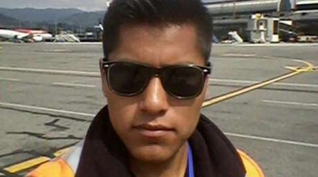 Erwin Tumiri foi um dos seis sobreviventes da queda do avião da Chapecoense, em 2016 (Foto: Reprodução)