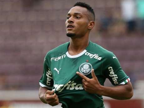 Fabrício em atuação pelas categorias de base do Verdão (Foto: Fabio Menotti/Ag. Palmeiras)