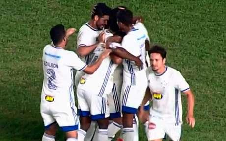 O time celeste vai encarar novamente o São Raimundo-RR pela primeira fase da Copa do Brasil- (Foto: Reprodução)