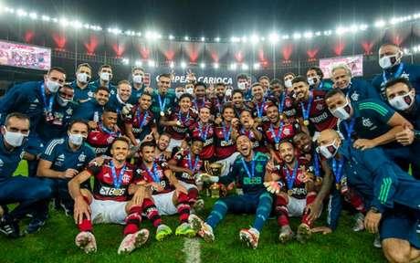 Flamengo é o atual bicampeão do Carioca (Foto: Marcelo Cortes/Flamengo)