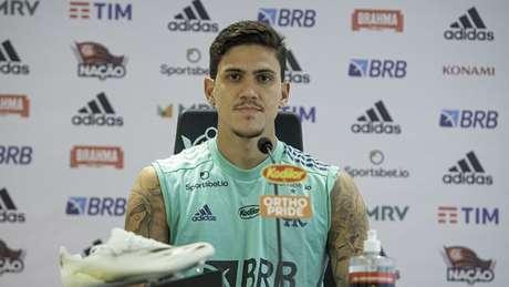 Pedro teve boa temporada pelo Flamengo (Foto: Alexandre Vidal/ Flamengo)