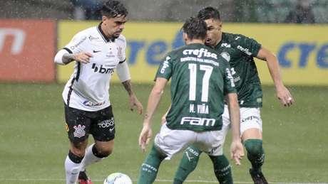 Palmeiras goleou o Corinthians por 4 a 0 no último encontro entre os times (Foto: Rodrigo Coca/Agência Corinthians)
