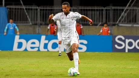 Caio Paulista, durante partida pelo Fluminense no Brasileirão (Foto: Mailson Santana/Fluminense FC)