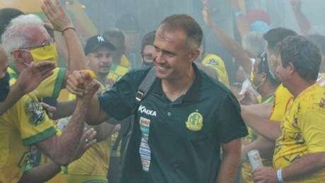 O Mirassol foi o campeão da Série D de 2020 (Foto: Léo Roveroni/Mirassol FC)