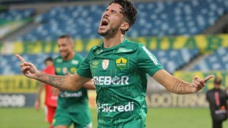 Marcinho participou do acesso do Cuiabá à Série A (Foto: Divulgação)