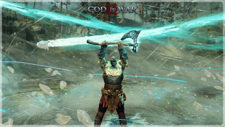 Magias com runas em God of War