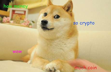O meme que inspirou o Dogecoin