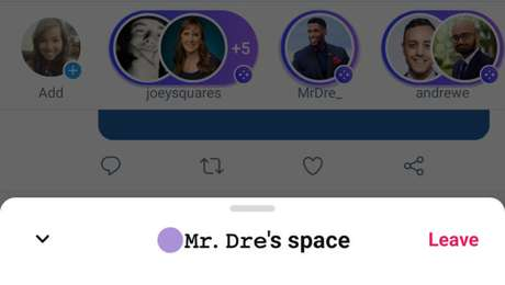 Twitter Spaces no Android