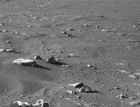 O PIXL também inclui uma câmera que captura imagens em close de texturas de rocha e solo