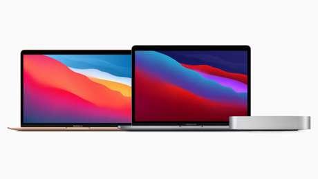 Linha Mac com processador Apple M1