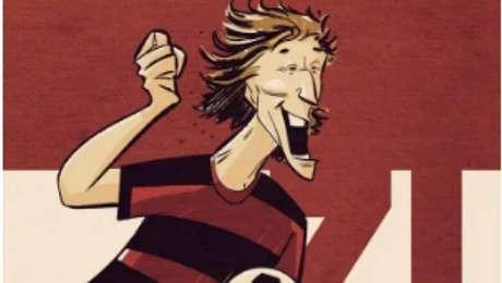 História em quadrinhos celebra 50 anos de carreira de Zico no futebol