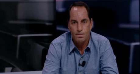 Edmundo trabalhou recentemente no Fox Sports (Imagem: Reprodução/Fox Sports)