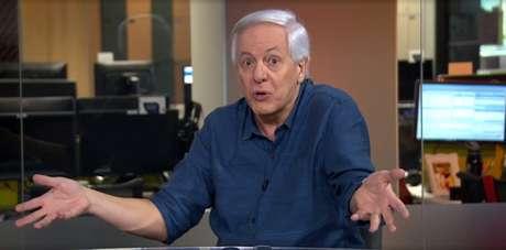 """Milton Leite participou do programa """"Redação SporTV"""", comandado por Marcelo Barreto (Reprodução/SporTV)"""