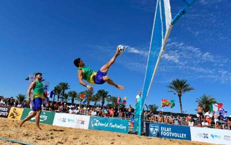 Futevôlei foium dos três primeiros esportes a ser liberado após a flexibilização de junho de 2020 (Foto: Divulgação)