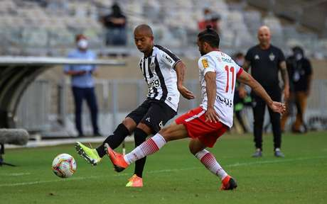 Galo e Tombense repetem duelo da última final do Estadual, quando decidiramo título de 2020-(Foto: Bruno Cantini e Pedro Souza / Agência Galo / Atlético)