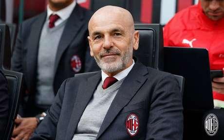 Pioli não ficou satisfeito com o que viu do Milan contra a Udinese (Foto: Divulgação / Milan)