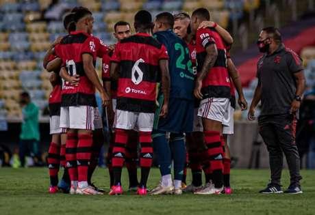 Flamengo venceu o Nova Iguaçu por 1 a 0, na estreia do Carioca (Foto: Paula Reis / Flamengo)