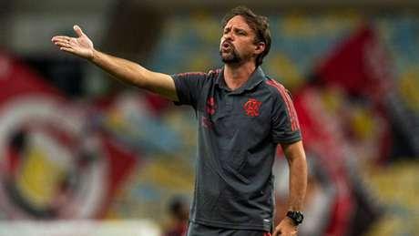 Equipe de Maurício Souza venceu por 1 a 0 (Foto: Marcelo Cortes / Flamengo)