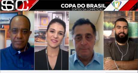 Em casa, integrantes dos programas da ESPN Brasil participavam de atração de forma inédita (Reprodução/ESPN Brasil)