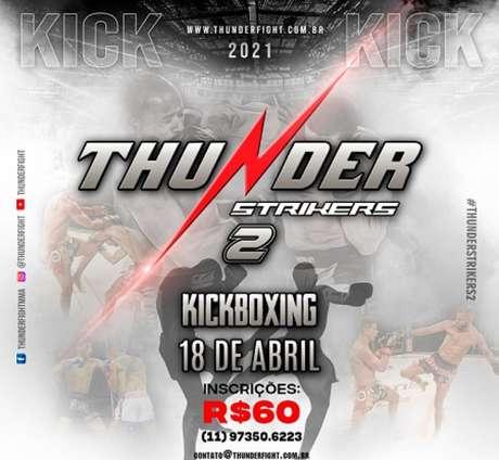 Segunda edição do Thunder Strikers vai acontecer no mês de abril (Foto: Divulgação)