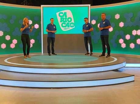Record conta com ex-Globo e Ricardo Rocha para exibição do Carioca (Divulgação/Record)