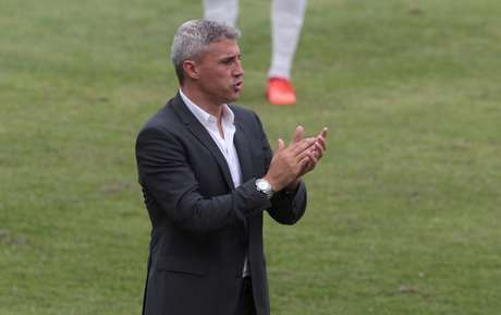 Hernán Crespo, treinador do São Paulo (Foto: Reprodução/Twitter)