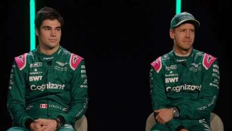 Dupla de pilotos será formada pelo canadense Lance Stroll e pelo tetracampeão Sebastian Vettel.