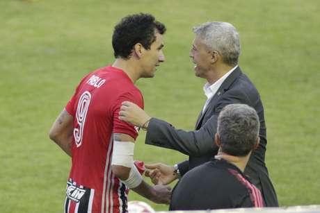 Pablo deixou a sua marca em goleada do São Paulo