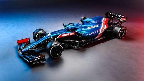 Eis o novo Alpine A521, o carro que marca o regresso de Fernando Alonso à Fórmula 1