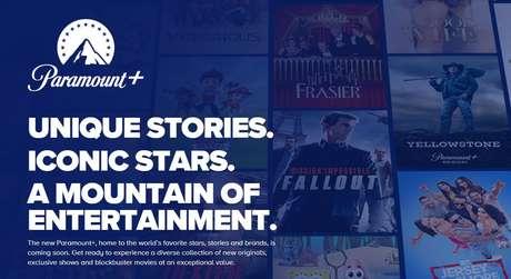 Paramount+ começa a operar no Brasil com mais de 5 mil horas de conteúdo