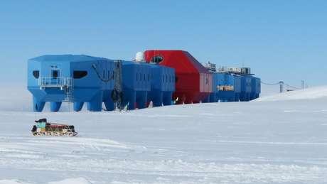 A estação Halley é conhecida por ser base para pesquisas sobre a camada de ozônio