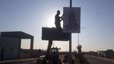 Cristãos de Qaraqosh preparam a cidade para receber o papa