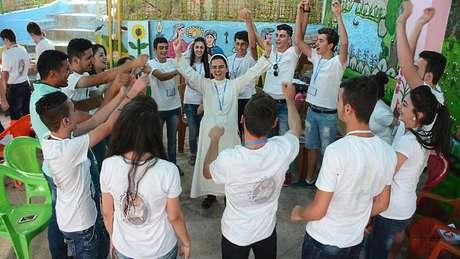A Igreja trabalha na região para que jovens não cultivem ódio ou sentimentos de vingança