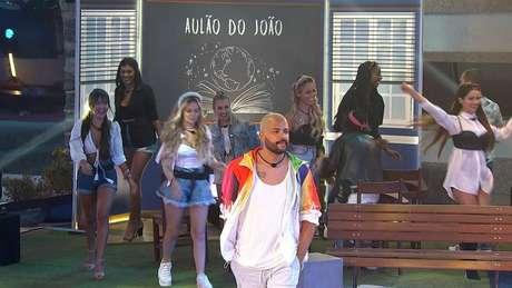Festa do Líder João Luiz no Big Brother Brasil 21teve o tema 'Escola'