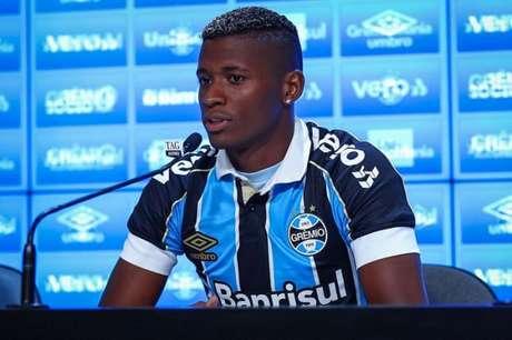 Orejuela deve ser anunciado no São Paulo (Foto: Lucas Uebel/Grêmio FBPA)