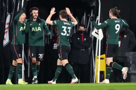 Tottenham venceu o Fulham (Foto: CLIVE ROSE / POOL / AFP)