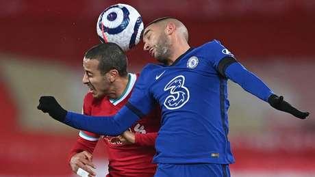 A vitória coloca os Blues provisoriamente entre os quatro primeiros da Premier League. Foto: AFP