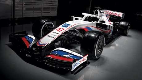 Novo Haas VF-21 é uma evolução do carro utilizado em 2020.