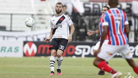 Zagueiro Marcelo Alves não ficará no Vasco (Foto: Divulgação/Vasco)
