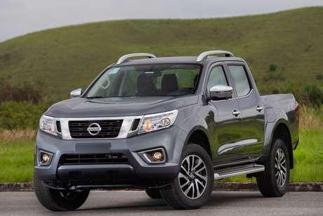 Nissan Frontier: participação recorde no mercado de picapes em fevereiro, com quase 12%.