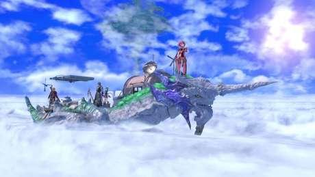 Cloud Sea of Alrest fica nas costas de um dos titãs de Xenoblade Chronicles 2
