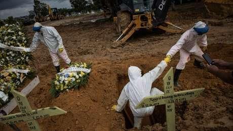 Brasil tem quase 260 mil mortos por covid-19