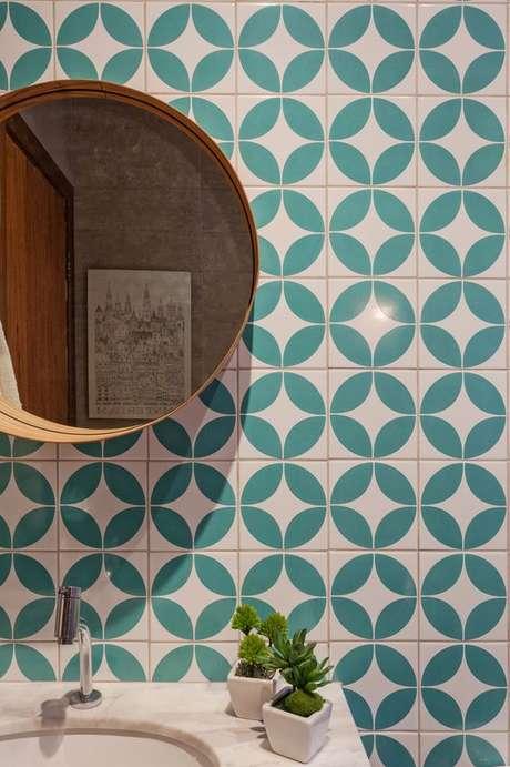 21. Azulejo retro geométrico – Foto Casa Claudia