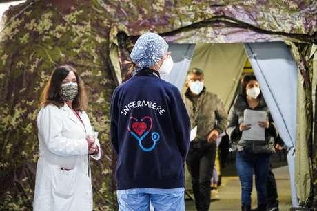 Itália vive momento de alta na pandemia de coronavírus