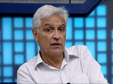 Fábio Sormani fez um trocadilho que não caiu no gosto dos colegas (Foto: Reprodução)