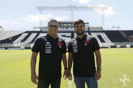 Marcelo Cabo, técnico do Vasco, terá com um de seus auxiliares o filho: Gabriel Cabo (Foto: Rafael Ribeiro/Vasco)