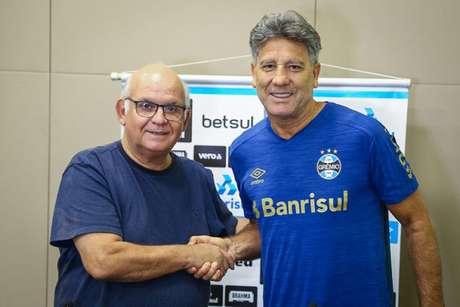 Novo contrato de Renato vai até o fim de 2021 (Lucas Uebel/Grêmio FBPA)