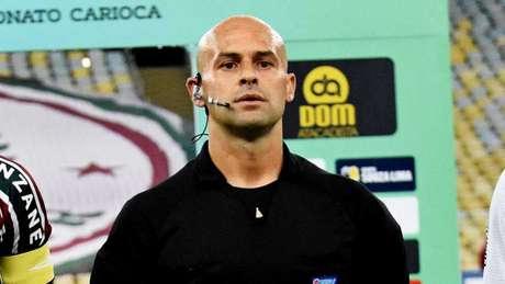 Grazianni Maciel Rocha, árbitro da partida do Fluminense (Foto: Mailson Santana / Fluminense FC)