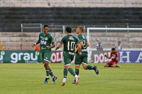 Meio-campista fez o primeiro gol do time na temporada 2021 (Thomaz Marostegan/Guarani FC)