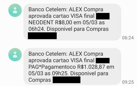 Compra indevida de mais de R$ 1 mil foi aprovada pela Cetelem